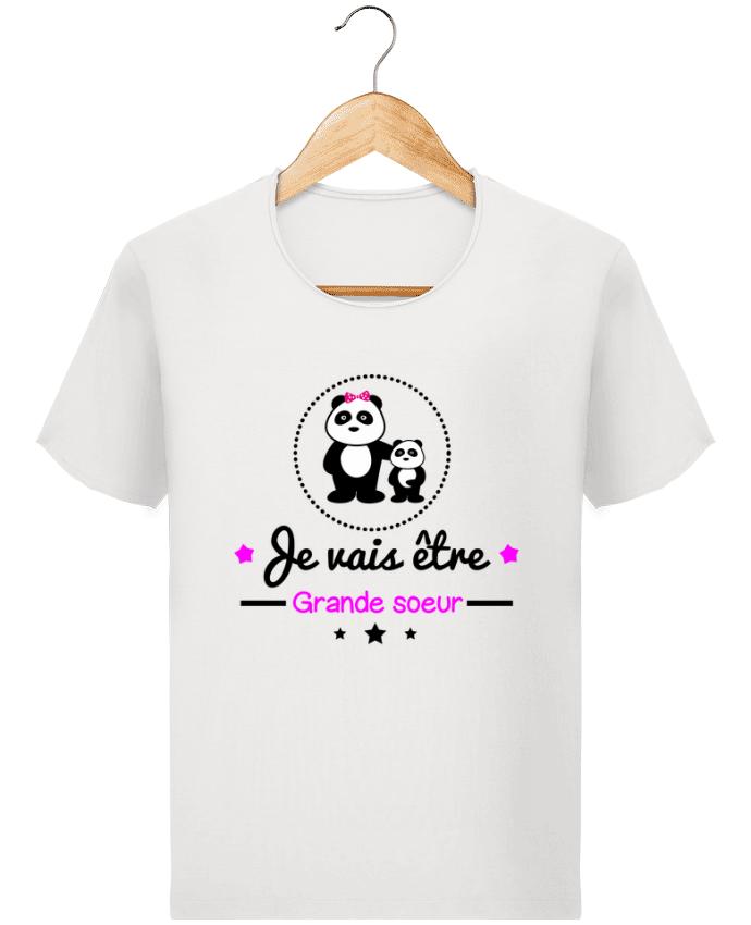 T-shirt Homme Stanley Imagines Vintage Bientôt grande soeur - Future grande soeur par Benichan