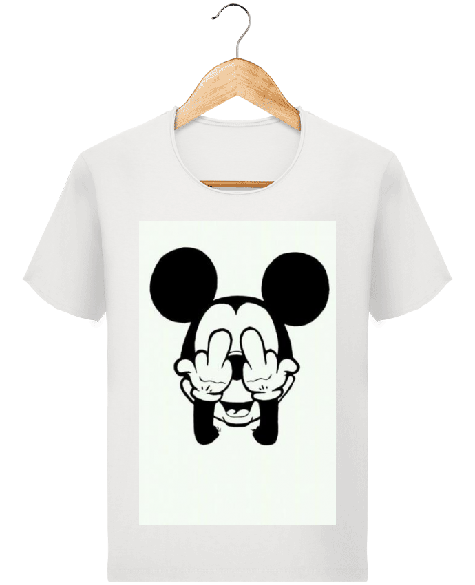 T-shirt Homme Stanley Imagines Vintage Vetement mickey doigt d
