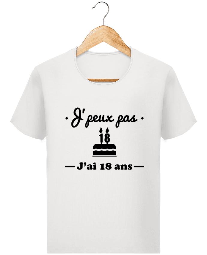 T-shirt Homme Stanley Imagines Vintage J'peux pas j'ai 18 ans, cadeau d'anniversaire par Benichan