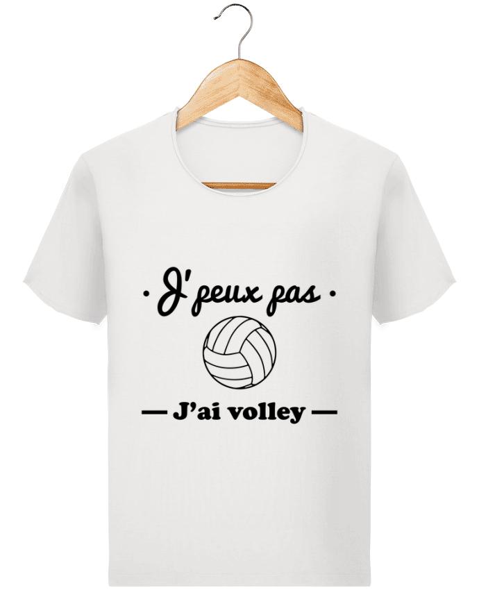 T-shirt Homme Stanley Imagines Vintage J'peux pas j'ai volley , volleyball, volley-ball par Benichan