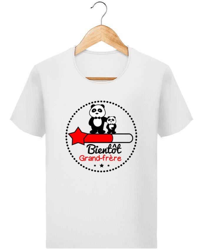 T-shirt Homme Stanley Imagines Vintage Bientôt grand-frère , futur grand frère par Benichan