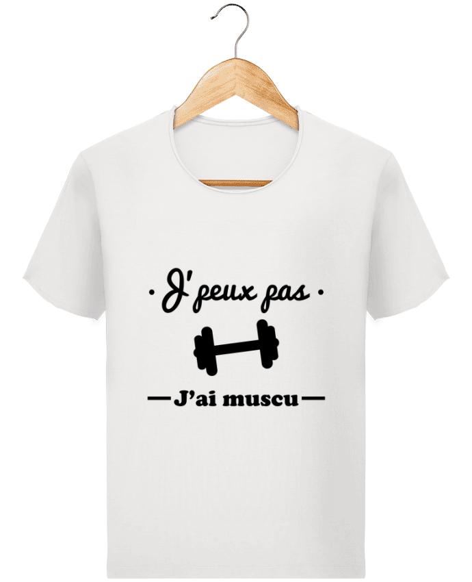 T-shirt Homme Stanley Imagines Vintage J'peux pas j'ai muscu, musculation par Benichan