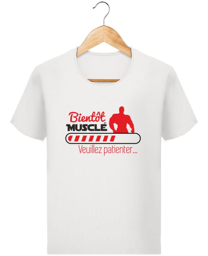 T-shirt Homme Stanley Imagines Vintage Bientôt musclé, musculation, muscu, humour par Benichan