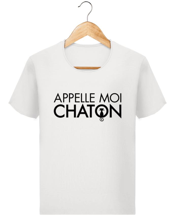 T-shirt Homme Stanley Imagines Vintage Appelle moi Chaton par Freeyourshirt.com