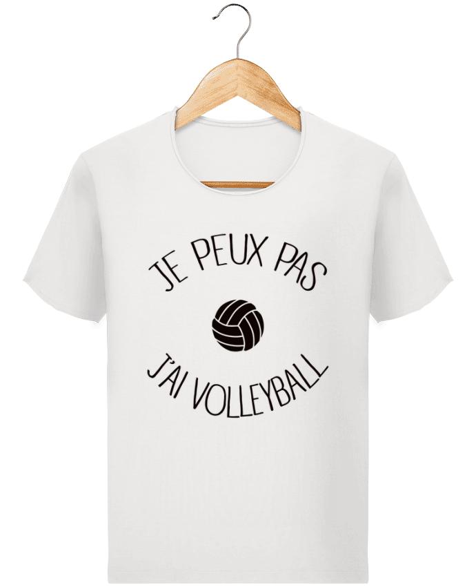 T-shirt Homme Stanley Imagines Vintage Je peux pas j'ai volleyball par Freeyourshirt.com