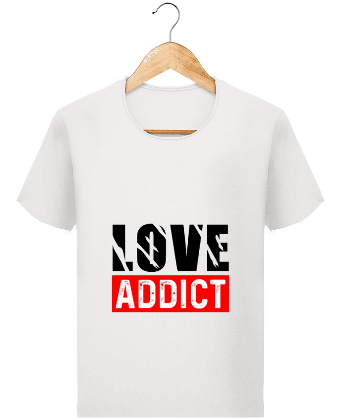 T-shirt Homme Stanley Imagines Vintage Love Addict par Sole Tshirt