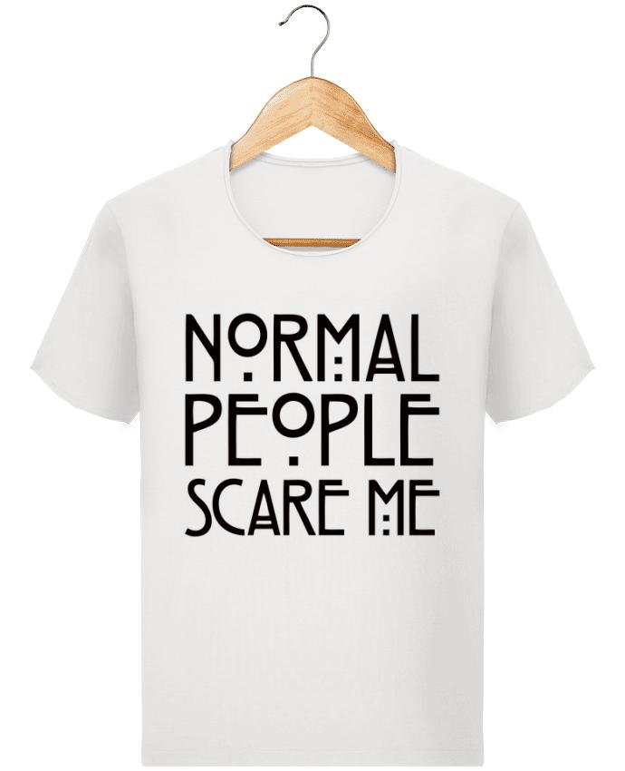 T-shirt Homme Stanley Imagines Vintage Normal People Scare Me par Freeyourshirt.com