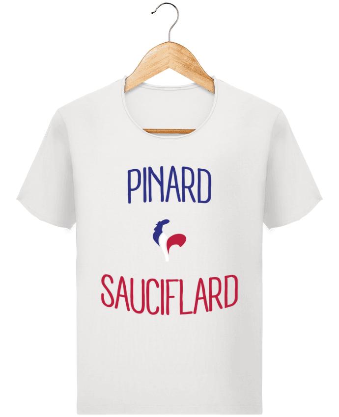 T-shirt Homme Stanley Imagines Vintage Pinard Sauciflard par Freeyourshirt.com