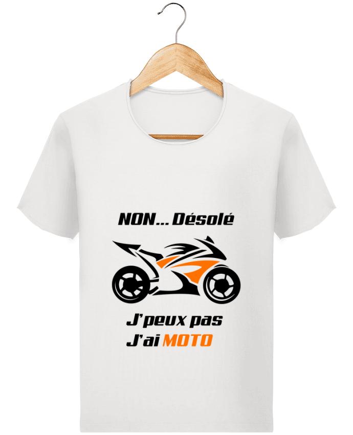 T-shirt Homme Stanley Imagines Vintage J'peux pas j'ai moto par MotorWave's