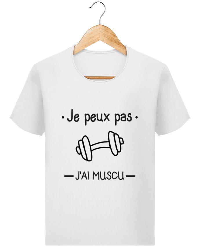 T-shirt Homme Stanley Imagines Vintage Je peux pas j'ai muscu, musculation par Benichan
