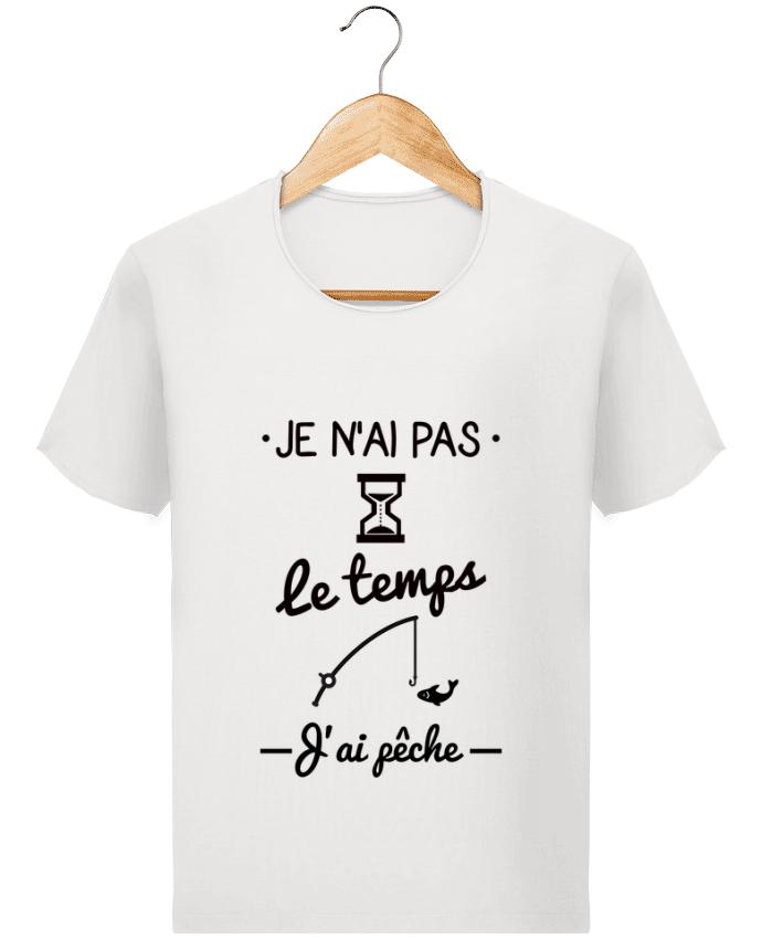 T-shirt Homme Stanley Imagines Vintage Pas le temps j'ai pêche par Benichan
