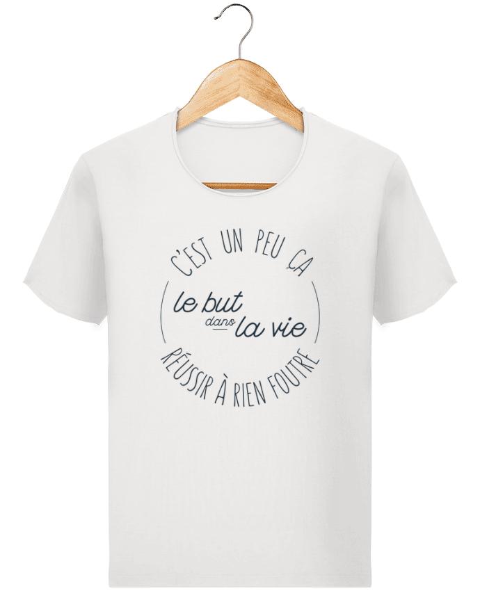 T-shirt Homme Stanley Imagines Vintage C'est un peu ça le but dans la vie réussir à rien foutre par tunetoo
