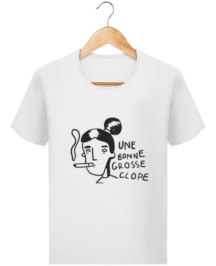 T-shirt Homme Stanley Imagines Vintage CLOPE (une bonne grosse) par RSTLL