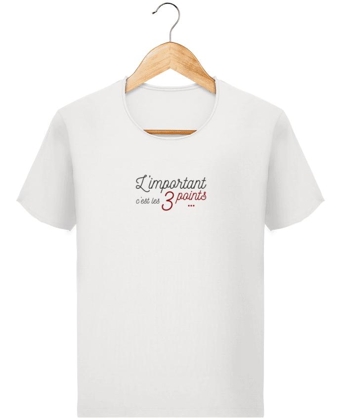 T-shirt Homme Stanley Imagines Vintage L'important c'est les trois points par AkenGraphics