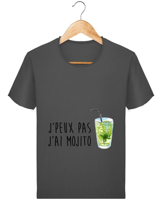T-shirt Homme vintage Je peux pas j'ai mojito par FRENCHUP-MAYO