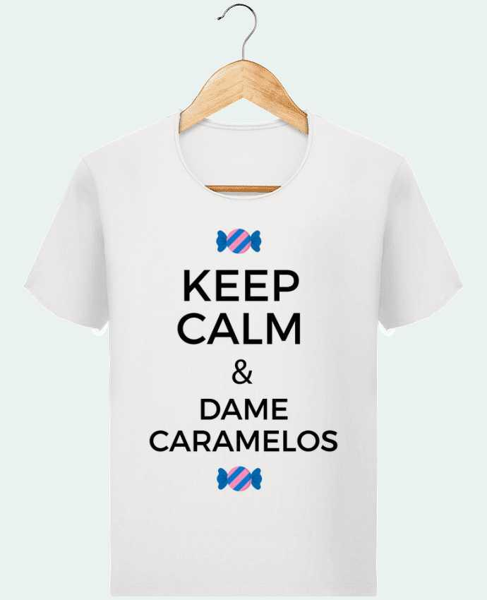 T-shirt Homme Stanley Imagines Vintage Keep Calm and Dame Caramelos par tunetoo