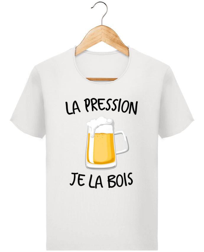 T-shirt Homme Stanley Imagines Vintage La pression je la bois par FRENCHUP-MAYO