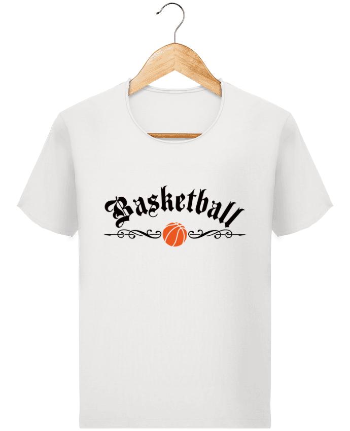 T-shirt Homme Stanley Imagines Vintage Basketball par Freeyourshirt.com