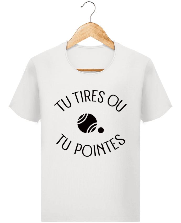 T-shirt Homme Stanley Imagines Vintage Tu Tires Ou Tu Pointes par Freeyourshirt.com