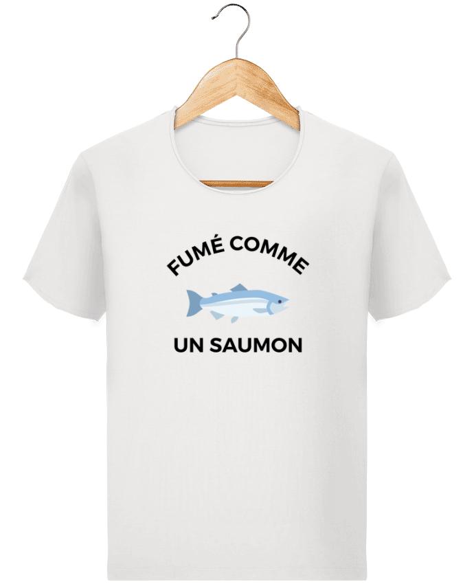 T-shirt Homme Stanley Imagines Vintage fumé comme un saumon par Ruuud