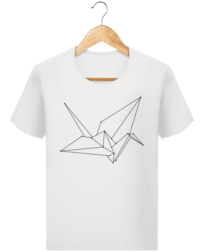 T-shirt Homme Stanley Imagines Vintage Origami bird par /wait-design