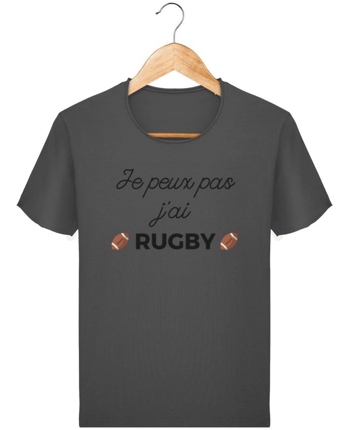 T-shirt Homme vintage Je peux pas j'ai Rugby par Ruuud