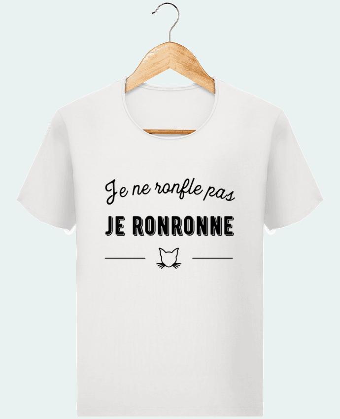 T-shirt Homme Stanley Imagines Vintage je ronronne t-shirt humour par Original t-shirt