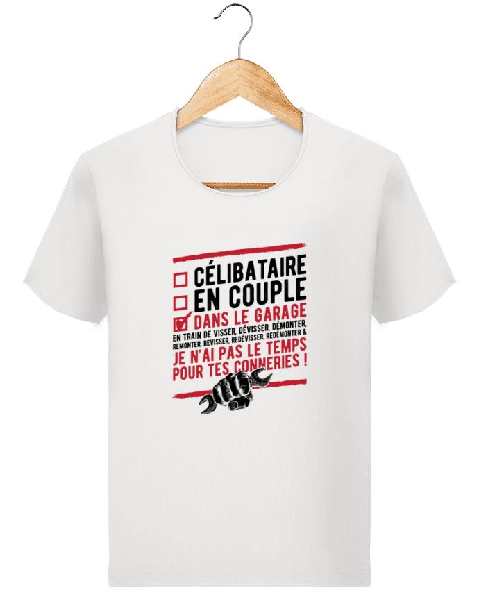 T-shirt Homme Stanley Imagines Vintage Dans le garage humour par Original t-shirt