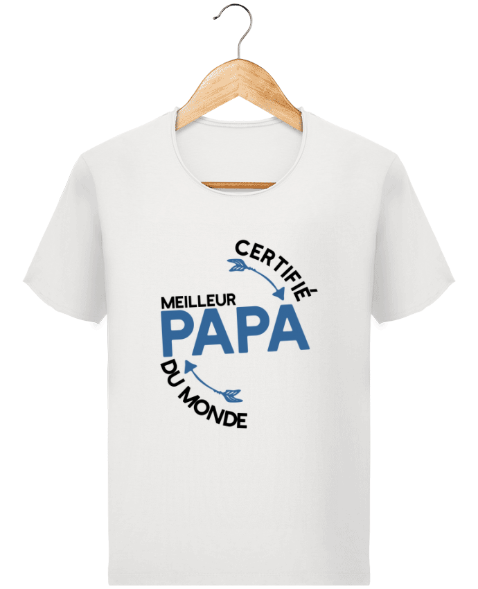 T-shirt Homme Stanley Imagines Vintage Certifié meilleur papa cadeau par  Original t-shirt b778a710f9fc