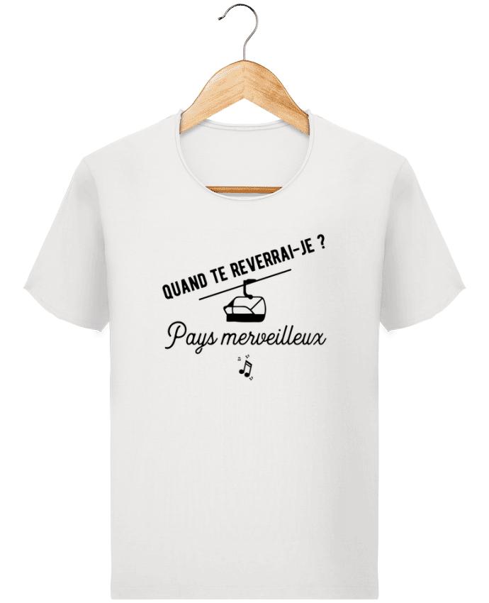 T-shirt Homme Stanley Imagines Vintage Pays merveilleux humour par Original t-shirt
