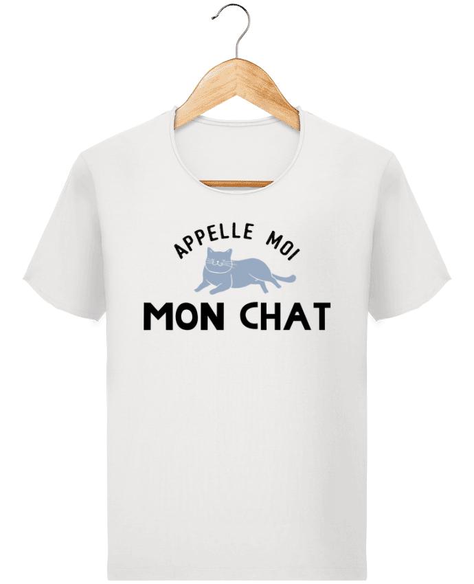 T-shirt Homme Stanley Imagines Vintage Appelle moi mon chat par tunetoo