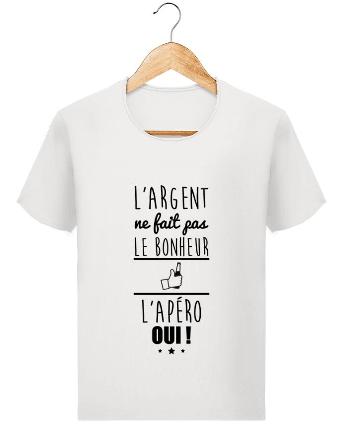 T-shirt Homme Stanley Imagines Vintage L'argent ne fait pas le bonheur l'apéro oui ! par Benichan