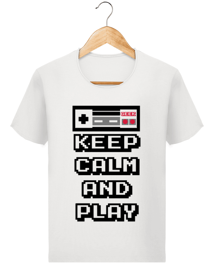 T-shirt Homme Stanley Imagines Vintage KEEP CALM AND PLAY par SG LXXXIII