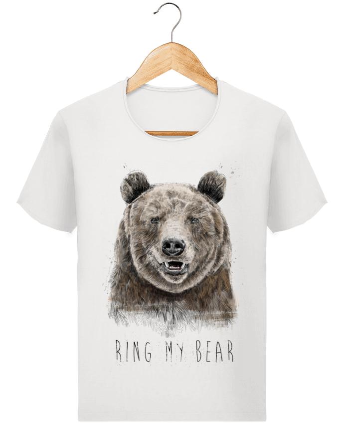 T-shirt Homme Stanley Imagines Vintage Ring my bear par Balàzs Solti