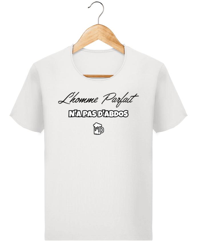 T-shirt Homme Stanley Imagines Vintage L'homme parfait n'as pas d'abdos par tunetoo