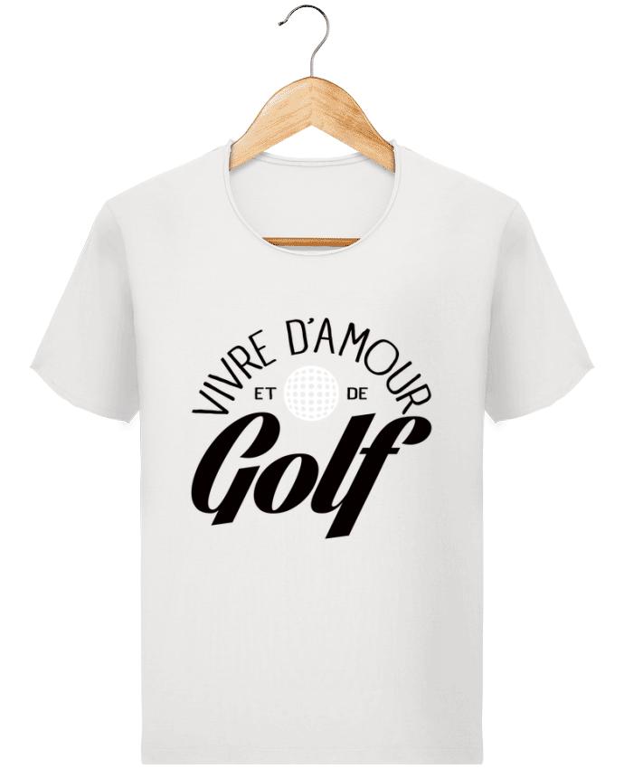 T-shirt Homme Stanley Imagines Vintage Vivre d'Amour et de Golf par Freeyourshirt.com