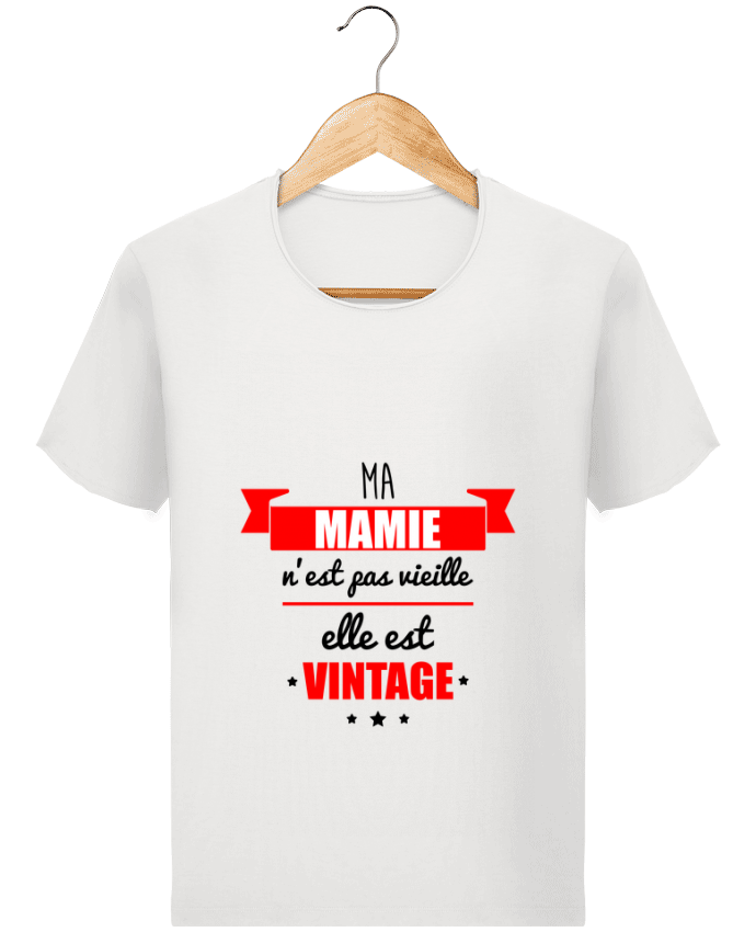 T-shirt Homme Stanley Imagines Vintage Ma mamie n