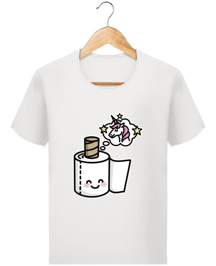 T-shirt Homme Stanley Imagines Vintage Unicorn Toilet Paper par LaundryFactory