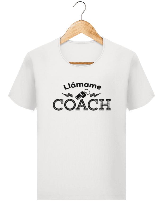 T-shirt Homme Stanley Imagines Vintage Llámame Coach par tunetoo