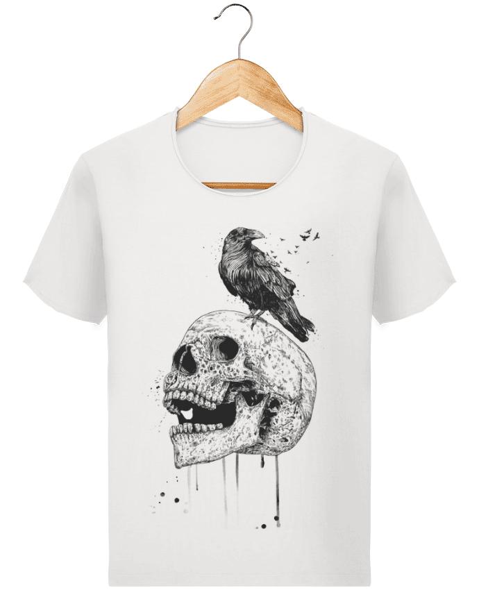 T-shirt Homme Stanley Imagines Vintage New skull (bw) par Balàzs Solti