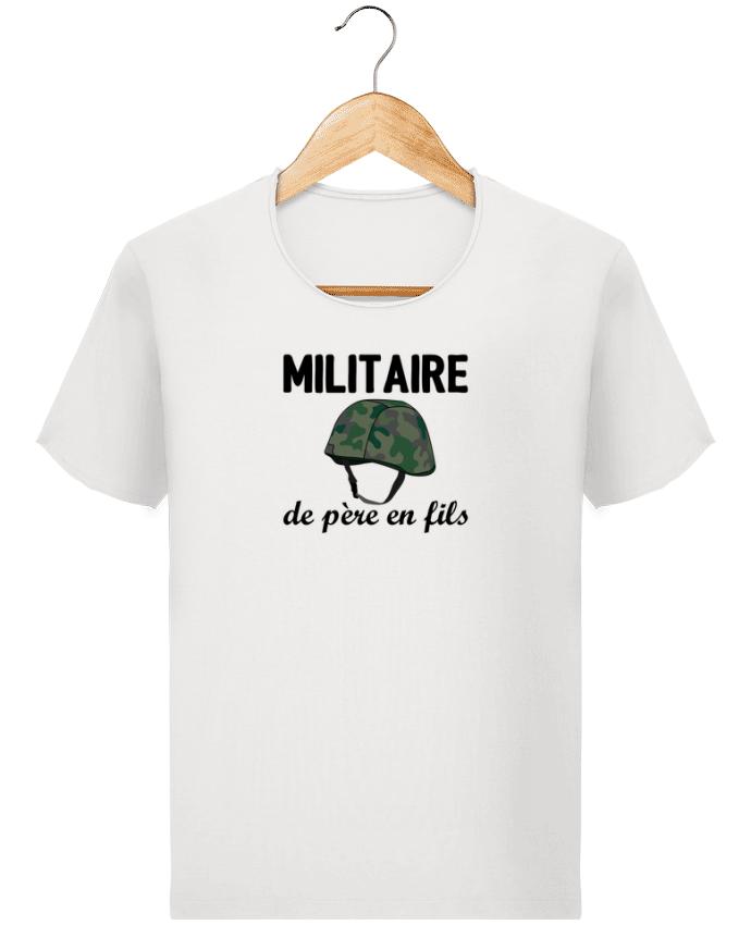 T-shirt Homme Stanley Imagines Vintage Militaire de père en fils par tunetoo