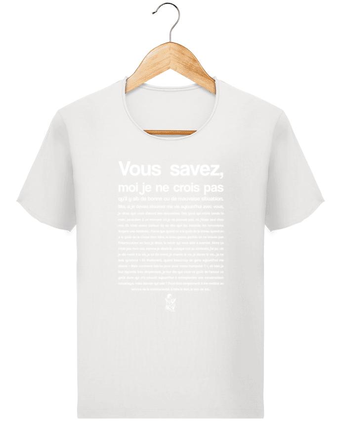 T shirt Homme Stanley Imagines Vintage Citation Scribe Astérix par tunetoo