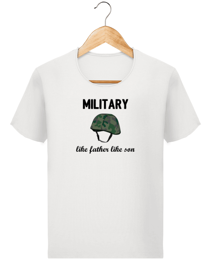 T-shirt Homme Stanley Imagines Vintage Military Like father like son par tunetoo