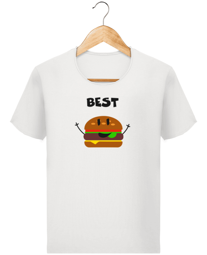 T-shirt Homme Stanley Imagines Vintage BEST FRIENDS BURGER 1 par tunetoo