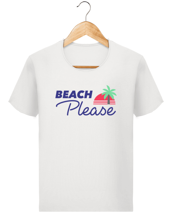 T-shirt Homme Stanley Imagines Vintage Beach please par Ruuud