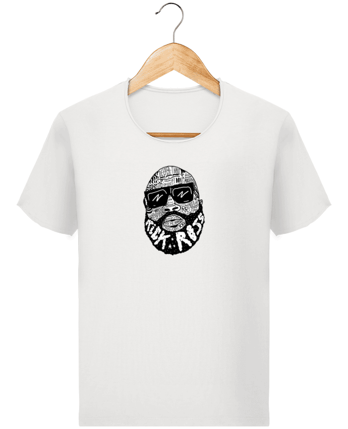 T-shirt Homme Stanley Imagines Vintage Rick Ross head par Nick cocozza