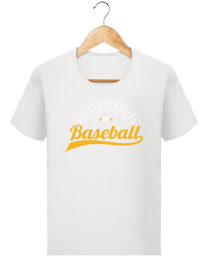 T-shirt Homme Stanley Imagines Vintage Distracted by Baseball par Original t-shirt