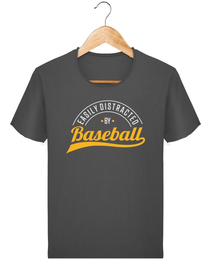 T-shirt Homme vintage Distracted by Baseball par Original t-shirt