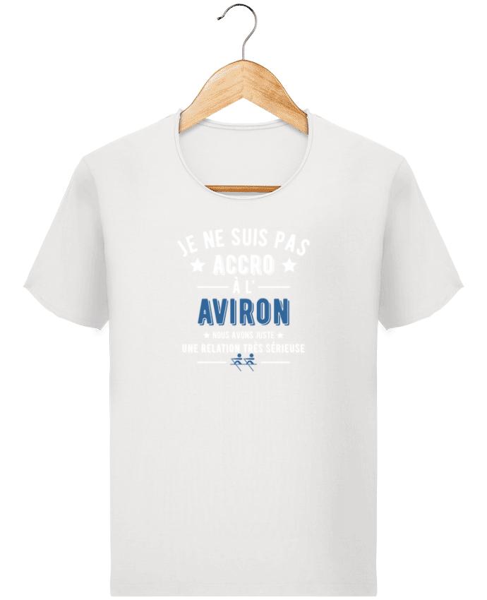 T-shirt Homme Stanley Imagines Vintage Accro à l'aviron par Original t-shirt