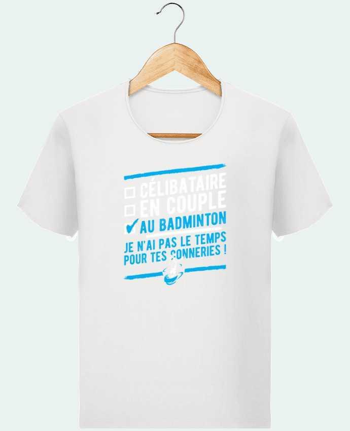 T-shirt Homme Stanley Imagines Vintage Accro badminton par Original t-shirt